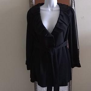 Feminine black jacket